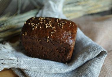 Черный хлеб: рецепты в духовке (на закваске)