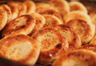 Узбекская лепешка: рецепт в духовке