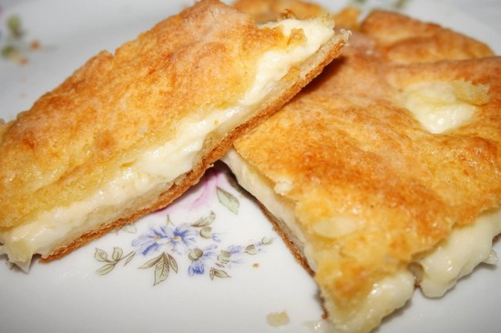 изумительные лепешки с сыром в духовке