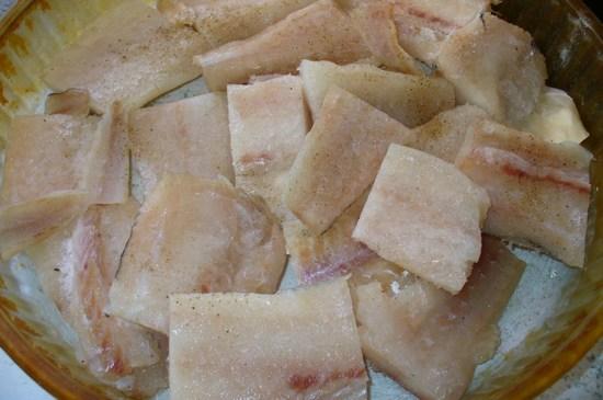 Филе хека в духовке: рецепт