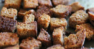 Сухари для кваса в духовке: рецепты