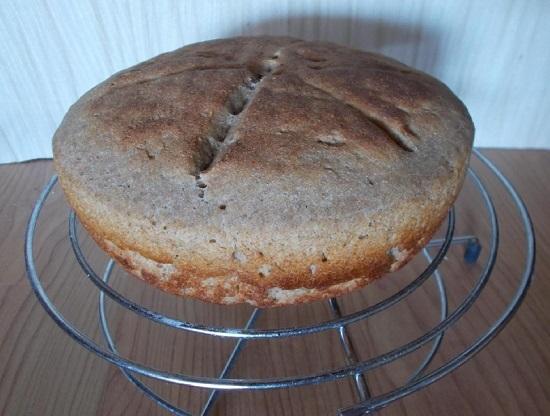 Бездрожжевой хлеб на закваске в духовке: рецепт