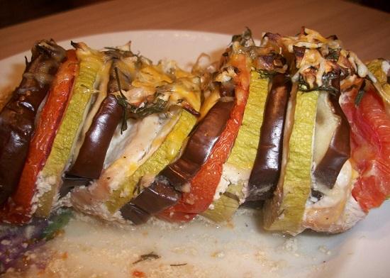 Рататуй: рецепт с мясом в духовке