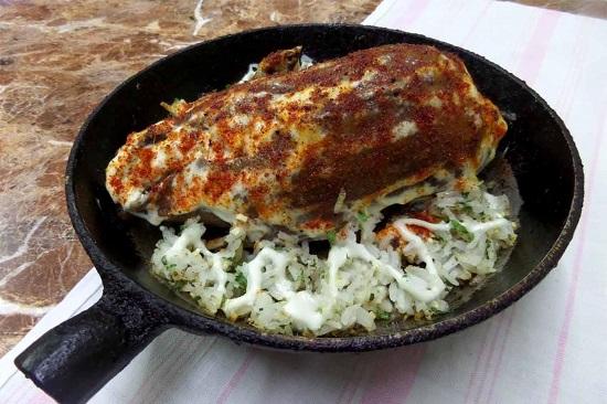 Утка, фаршированная рисом в духовке: рецепт традиционный