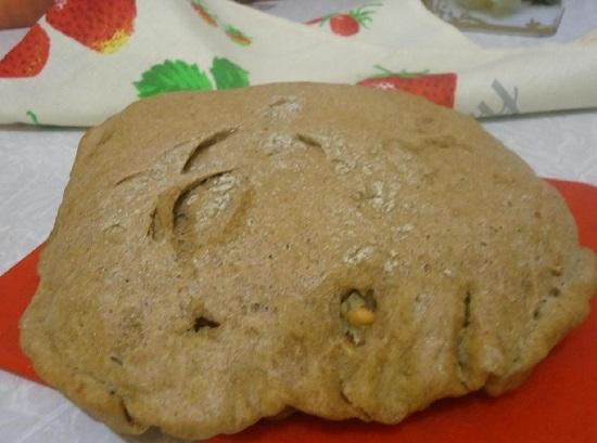 Хлеб ржаной в духовке: рецепт