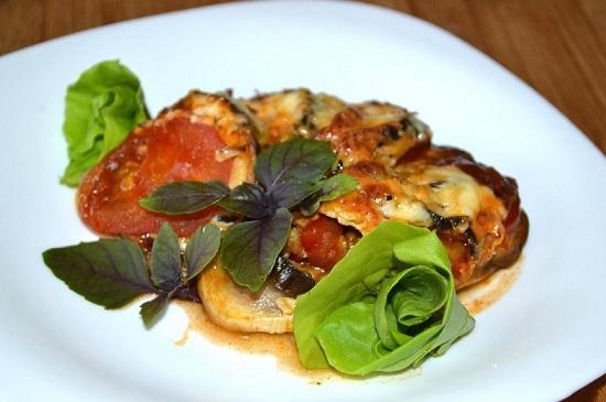 Рецепт рататуя с баклажанами в духовке
