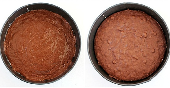 Бисквит шоколадный пышный в духовке