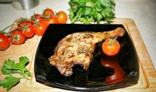 Ножки утки в духовке: рецепт