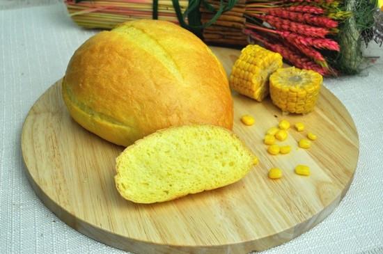 Хлеб из кукурузной муки без дрожжей