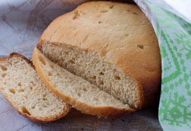 Хлеб картофельный с луком