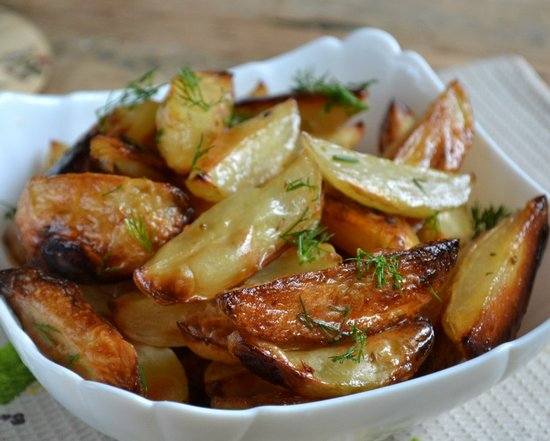 Картофель Айдихо: рецепт в духовке без варки
