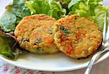 Рецепт овощных котлет в духовке (без мяса)