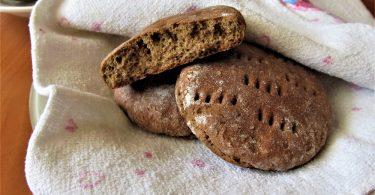 Ржаные лепешки в духовке: рецепт без дрожжей