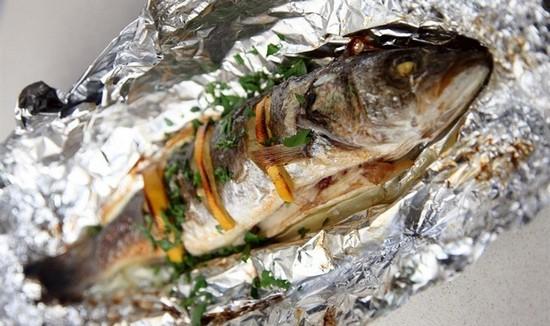 как правильно запечь сибаса в духовке в фольге, рецепт