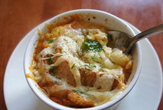 Суп в горшочках в духовке