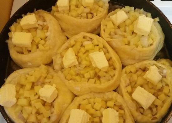 Картофельный Рулет с Мясным Фаршем в Духовке: рецепт с фото + ВИДЕО