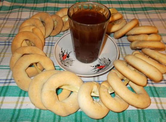 Рецепт сушек на сметане в духовке