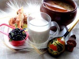Домашнее топленое молоко в духовке
