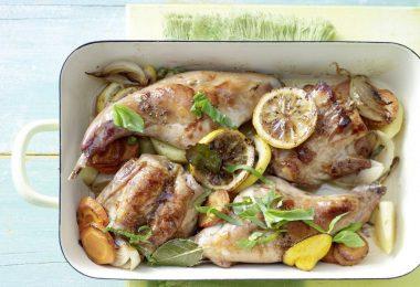 Тушка кролика в духовке: рецепт