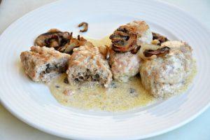 Грибные гречаники: рецепт с фаршем в духовке