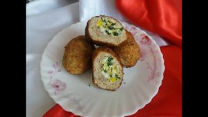 мясные с яйцом: рецепт