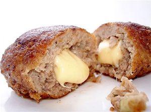 мясные зразы в духовке: рецепт с сыром
