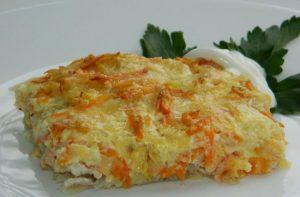 горбуша под сыром в духовке: рецепт