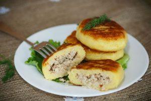 картофельные зразы в духовке: рецепт с фаршем