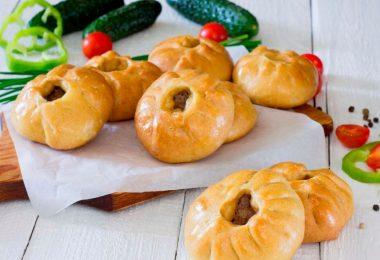 Беляши в духовке: рецепт с фото пошаговый