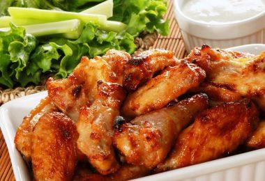 Как приготовить крылья индейки в духовке: рецепты