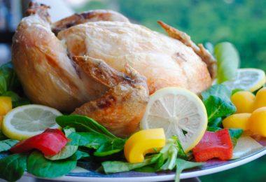 Как приготовить курицу в духовке на соли (целиком, с корочкой)?