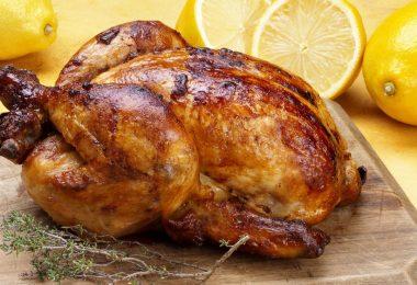 Как сделать курицу гриль в духовке (с картошкой, целиком)