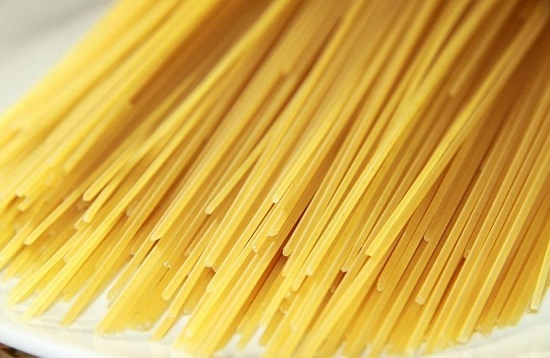 возьмем спагетти из отборных сортов пшеницы