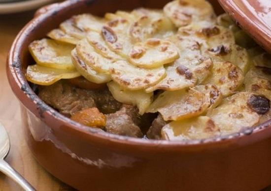 картошечка с говядиной в духовке