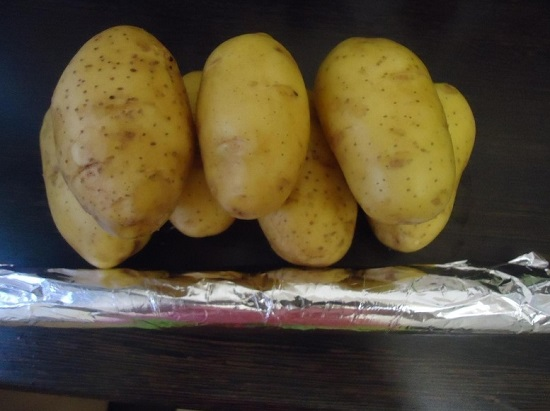 Просушиваем картофель