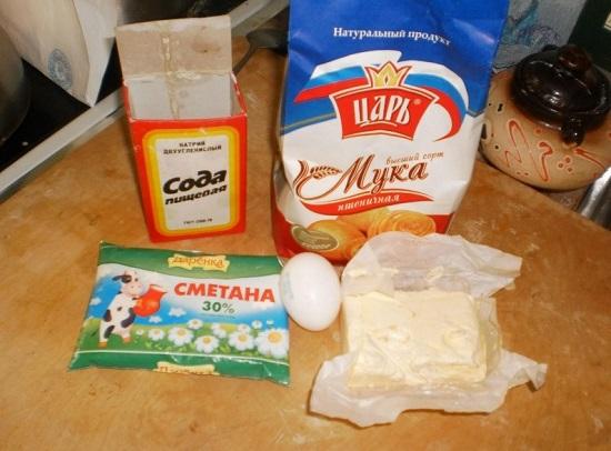 Подготавливаем нужные ингредиенты