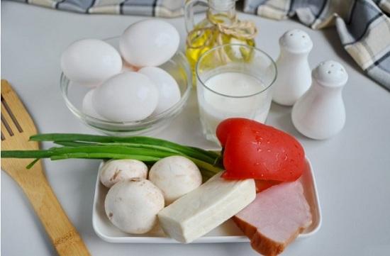 Подготовим по списку нужные нам продукты