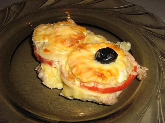 мясо по-французски с ананасовым вкусом