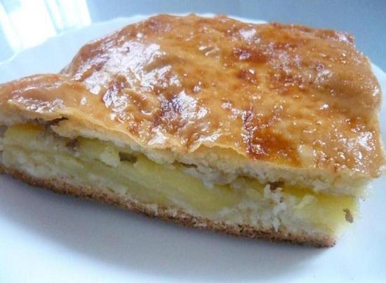 Рецепт пирога из картофельного пюре с фаршем