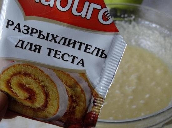Разрыхлитель смело можно заменить пищевой содой