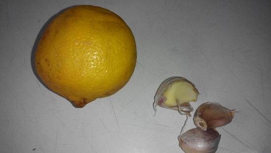 Нам нужен лимон среднего размера
