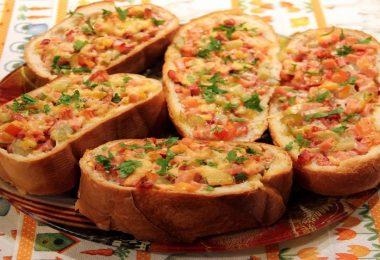 Пицца на батоне в духовке: рецепты быстрые