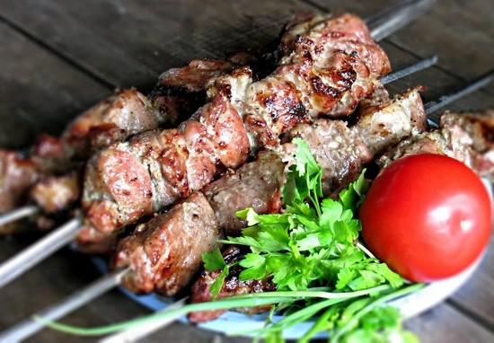 рецепт шашлыка из свинины в духовке