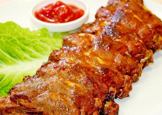 баранья корейка на кости в духовке: рецепт пошаговый