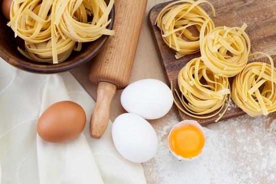 макароны гнезда с сыром в духовке
