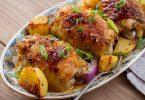 Бедра с картошкой в духовке: рецепты