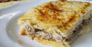 Запеканка мясная с картофелем в духовке