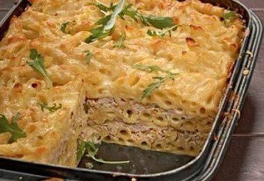 Макаронная запеканка в духовке: рецепт