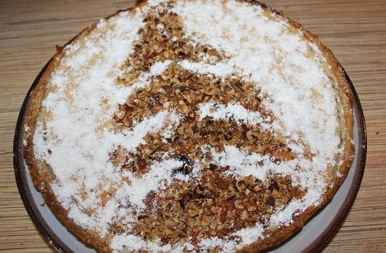 Банановый пирог в духовке: рецепт