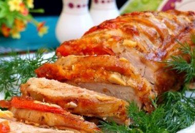 Мясо гармошка в духовке: рецепты